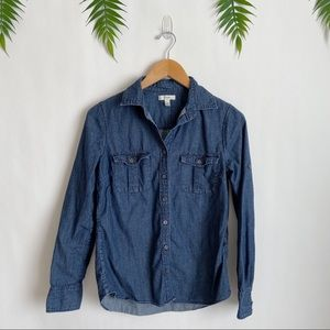 J. Crew • Chambray Keeper Button Down Shirt